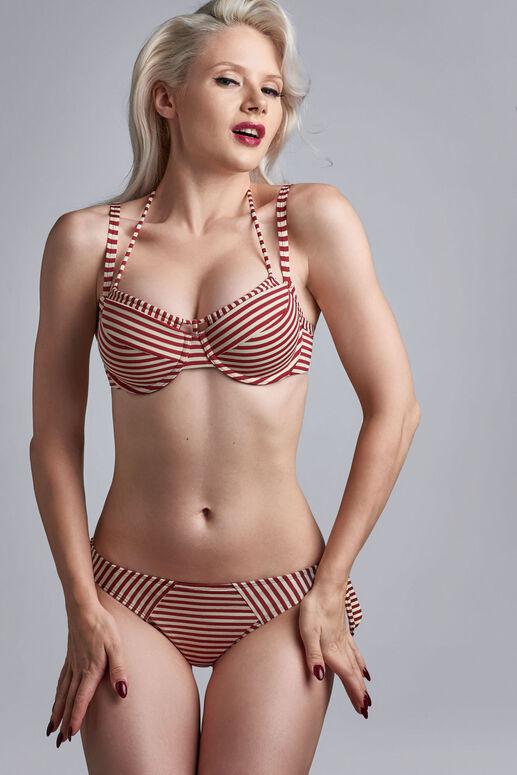holi vintage Plunge Balconette Bikini-Oberteil