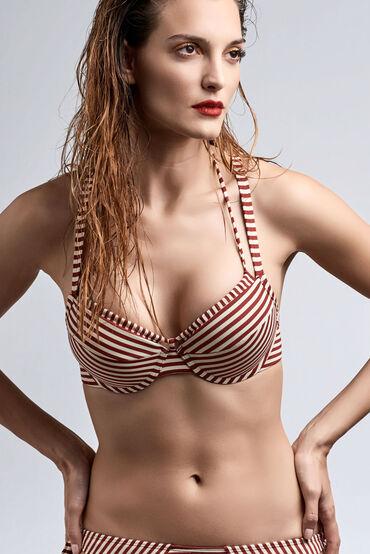 holi vintage push up bikini top