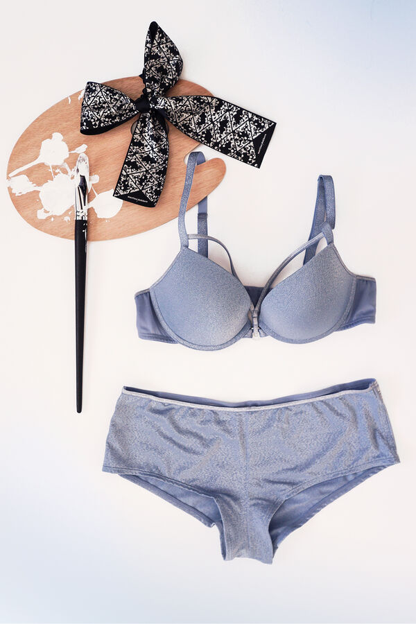 push up bra + brazilian shorts