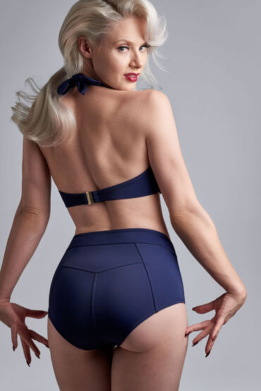 royal navy highwaist bikini slip