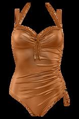 holi glamour plunge balcony bathing suit