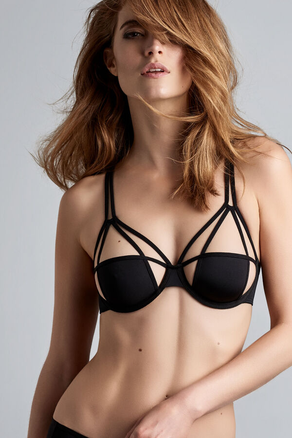the art of love unpadded plunge balcony bra