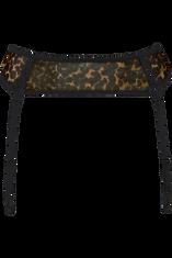 peekaboo garter belt
