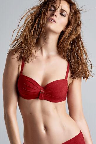 puritsu plunge balconette bikini top
