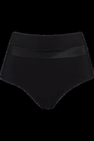 cache coeur high waist slip  black  XL