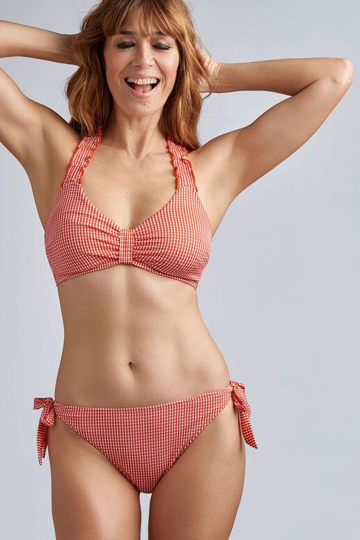 côte d'azur haut de bikini balconnet plongeant non rembourré