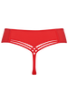 dame de paris push up bh + 7cm string red