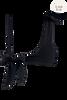 black sea strapless bikini top