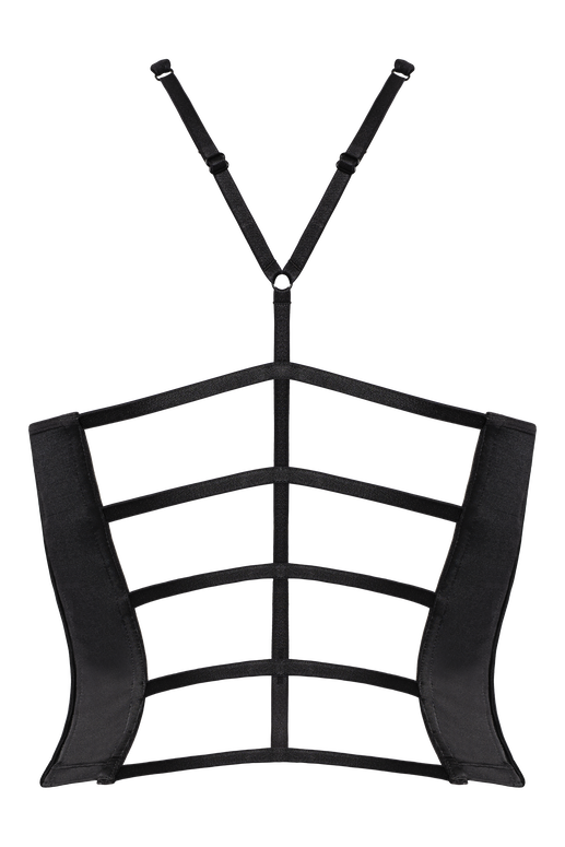 leading strings plunge balcony corset