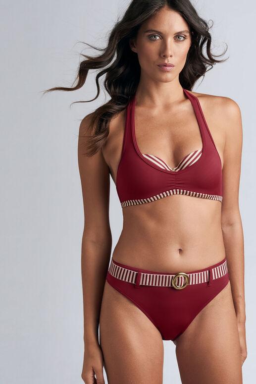 capitana plunge balcony bikini top
