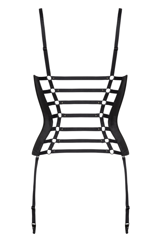 riding gear corset balconnet plongeant