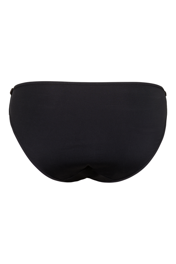 riding gear plunge balcony bra + 5cm briefs black