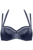 holi glamour plunge balcony bikini top