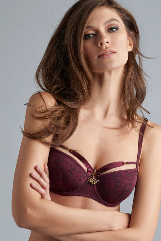 regal goddess plunge balcony bra