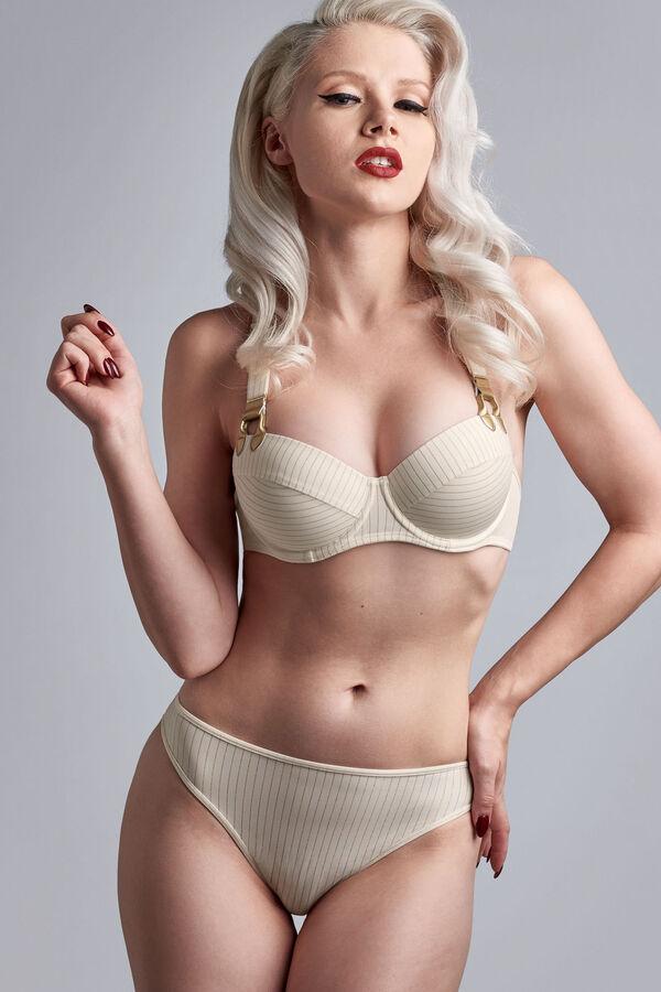 push up bra + thong 4 cm