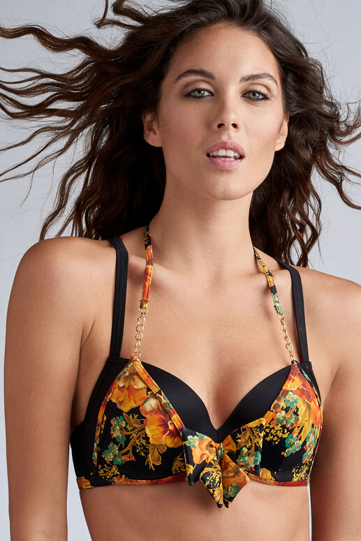 hawaii push up bikini top