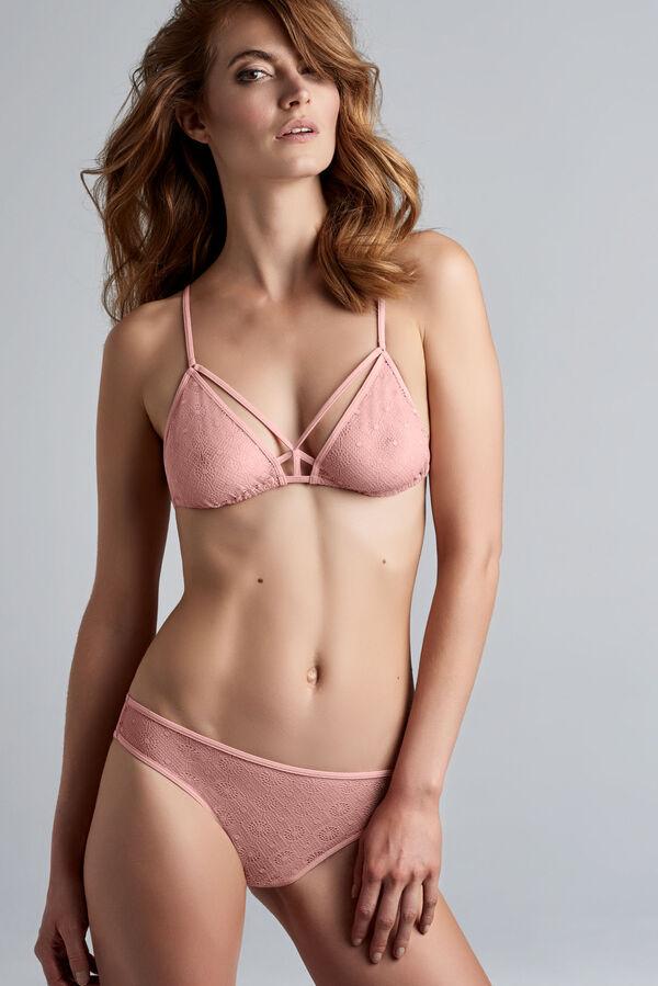 seduction triangle bra