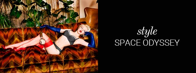 SS19 collection lingerie space odyssey steal grey