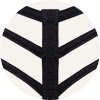 Signature leading strings black bra