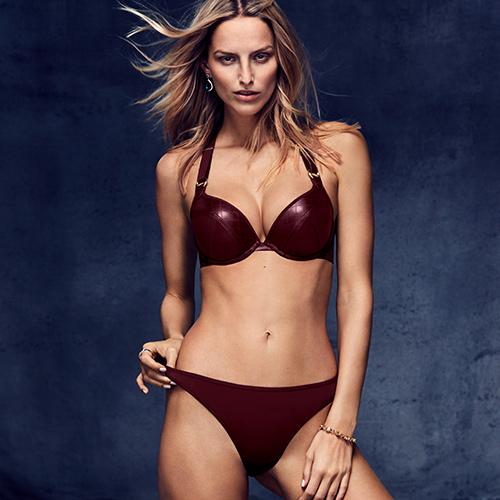 FW18 Femme Fatale bordeaux lingerie collection