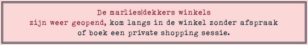 winkels open marlies dekkers banner desk