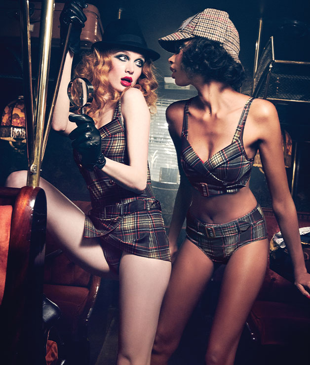lingerie collection the detective fw20