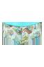 oriental morphosis green turquoise 12 cm brazilian shorts