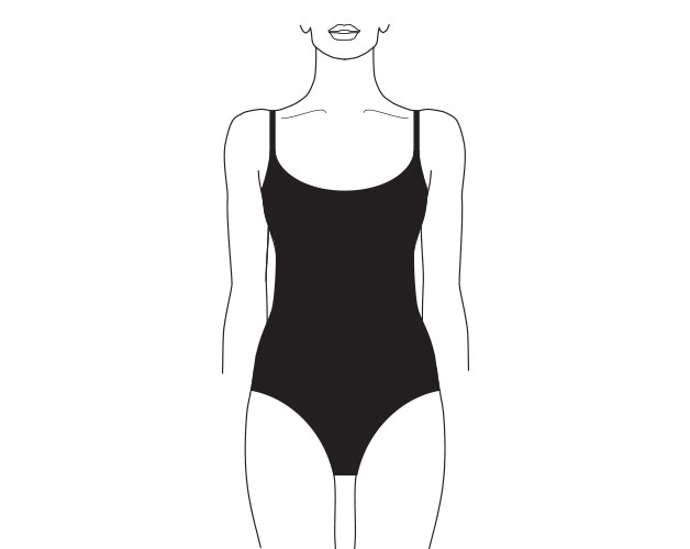 what is an unwired unpadded bathing suit