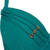 swimwear details holi gypsy teal green SS19