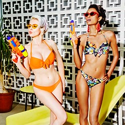 SS19 Papillon Orange swimwear collection