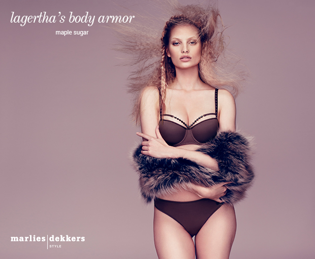 online lookbook lagertha's body armor