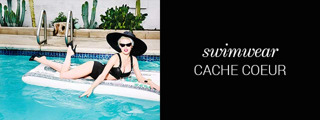 SS19 swimwear collection Cache Coeur