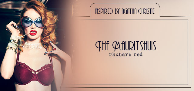 FW20 style collection The Mauritshuis rhubarb red header banner mobile