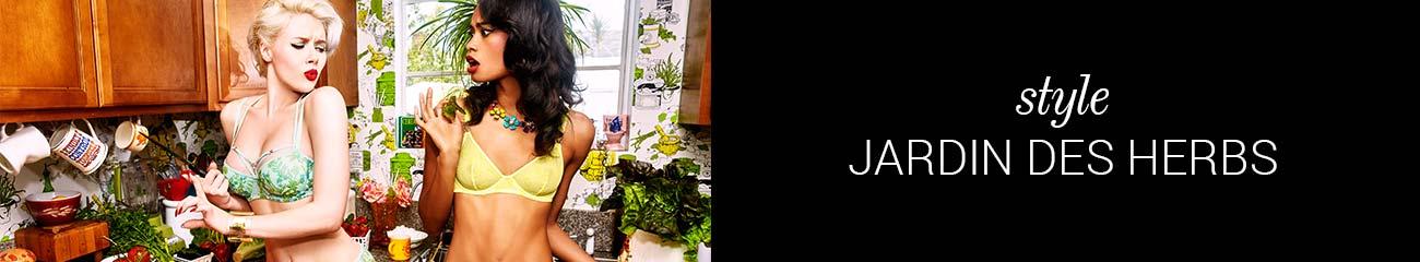SS19 collection lingerie Jardin des Herbs