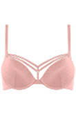 seduction mellow rose push up bra