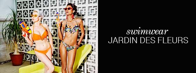 SS19 collection swimwear jardin des fleurs