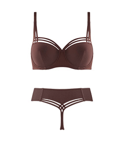 FW19 collection dame de paris chestnut brown style with