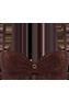 Puritsu brown plunge balcony bikini top