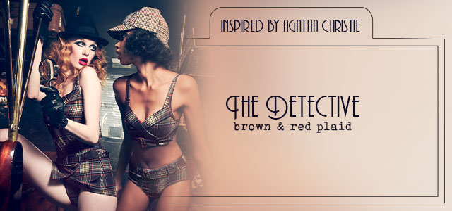 FW20 couture collection The Detective header banner mobile