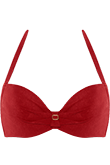 Puritsu red push up bikini top