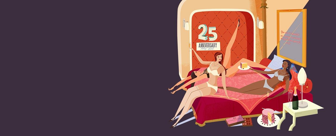 marlies dekkers 25th anniversary