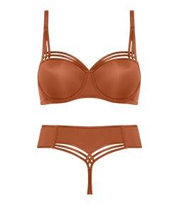 style lingerie collection Dame de Paris cinnamon FW18