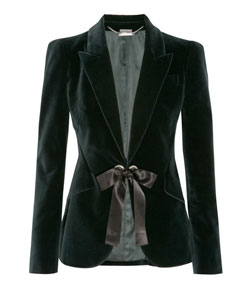 couture rebellious princess revolutionary black Blazer