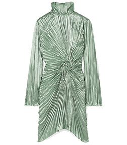 FW19 collection emerald lady emerald green style with
