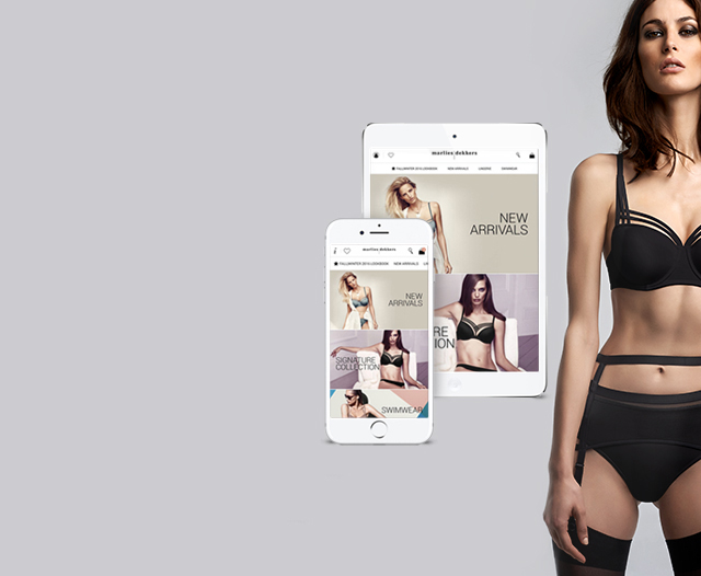 marlies dekkers shopping app