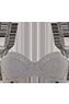 gloria grey suit plunge balcony bra