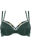forever secret forrest green push up bra