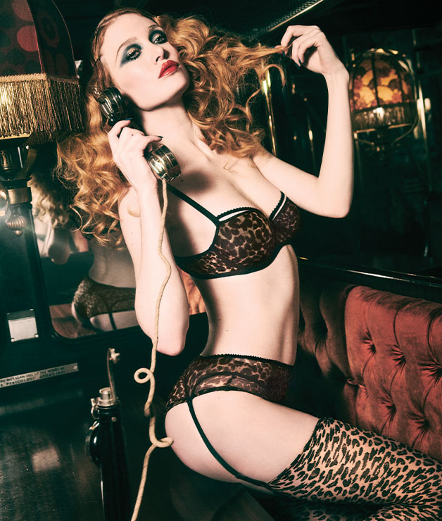 lingerie collection peekaboo fw20