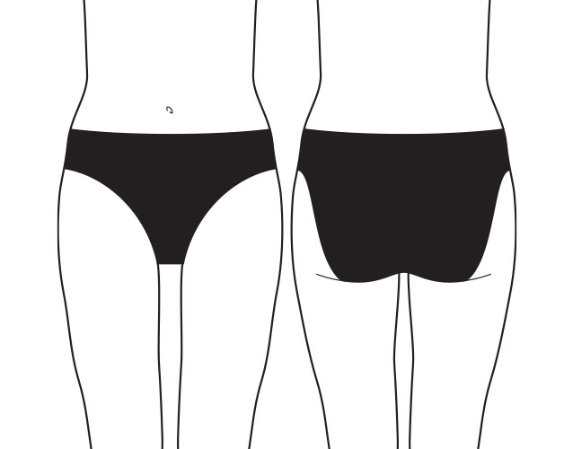 what are 5 cm bikini briefs