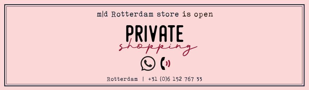 private shopping marlies dekkers rotterdam banner desk